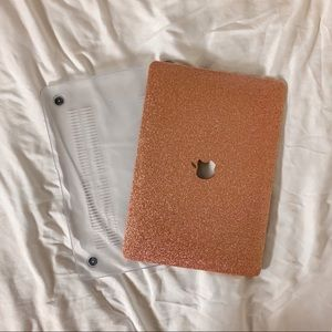 Pink Sparkle MacBook Air 13 Inch Case